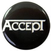 Accept - 'Name White' Button Badge